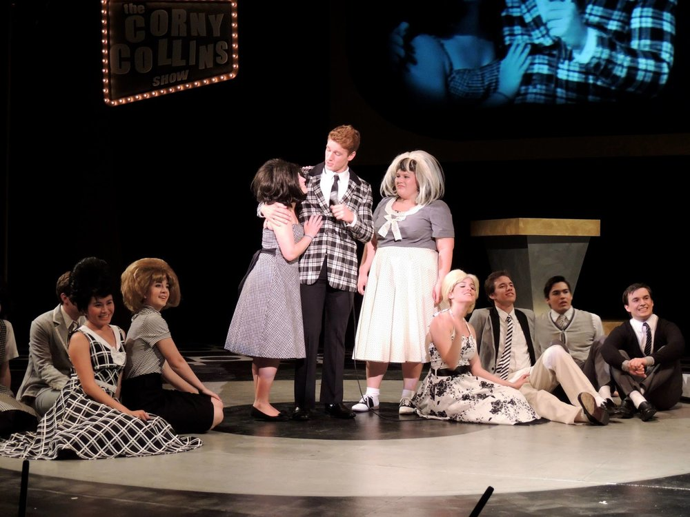 "Playing Corny Collins in ""Hairspray"""