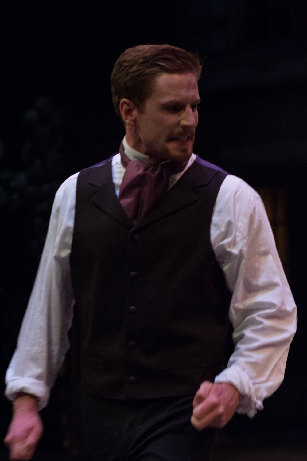 "Playing Angelo in ""Measure for Measure"""