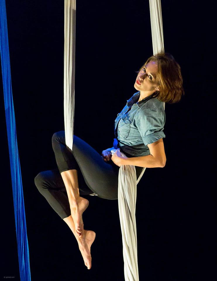 Melissa Johnson is an Austin-based aerialist, focusing primarily in aerial silks. For the past 6 years, she has trained with Blue Lapis Light and continues to perform in yearly showcases. A love for heights and passion for adventure, it's no wonder aerial dance proves to be Melissa's primary creative outlet.