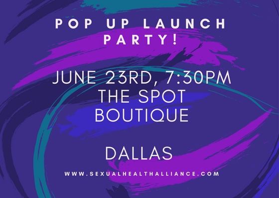 JOIN US AS WE LAUNCH IN DALLAS ON JUNE 23RD AT THE SPOT BOUTIQUE