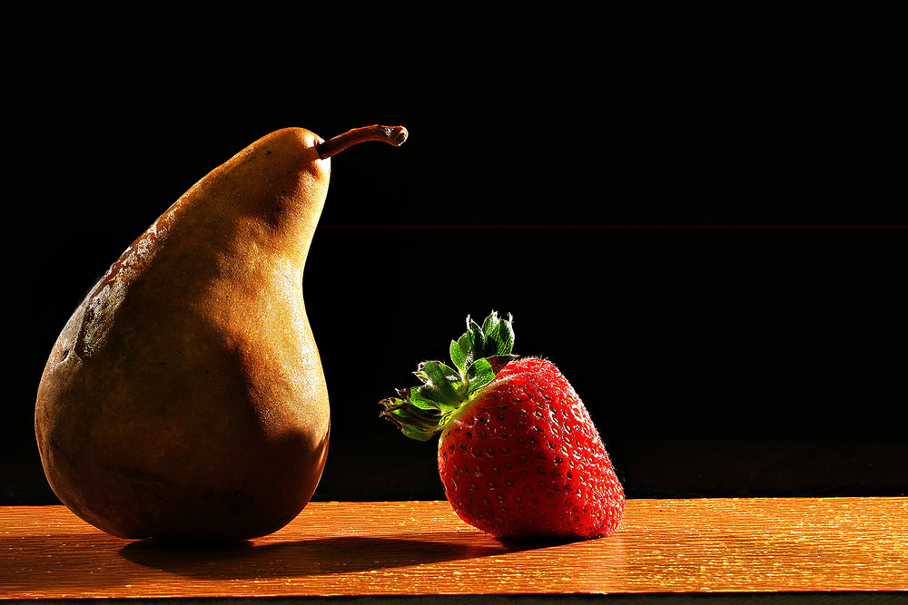 Pear and Strawberry XA0Y0468jp 9x12.jpg