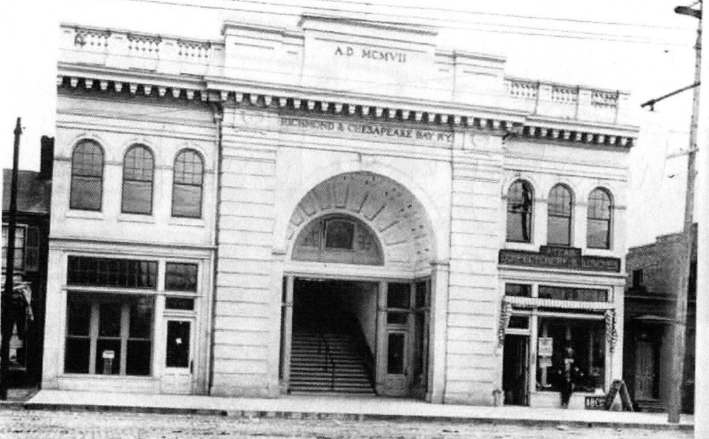 The Depot in 1907. Courtesy of  VCU News .