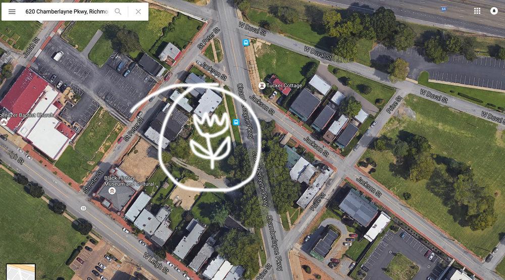 Jackson Ward Community Garden Seeks Assistance Storefront for