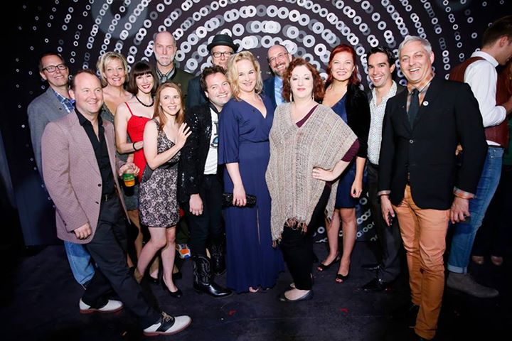 Various Broadus team members reunited at the 2015 Ovation Nominee Reception