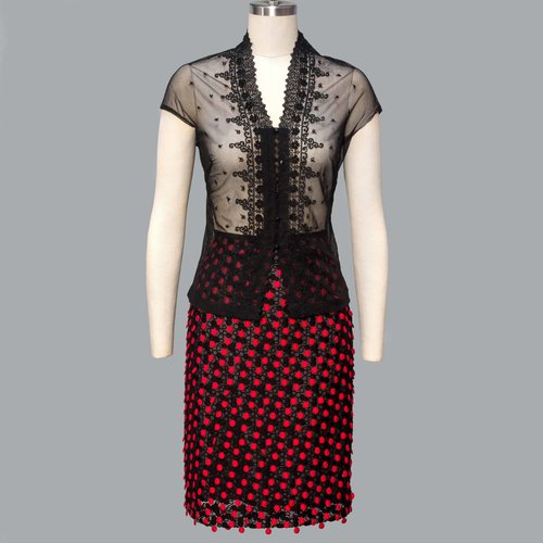 740a7d63a7 Skirt in red textile sequins. Sequince_skirt_red_web.jpg