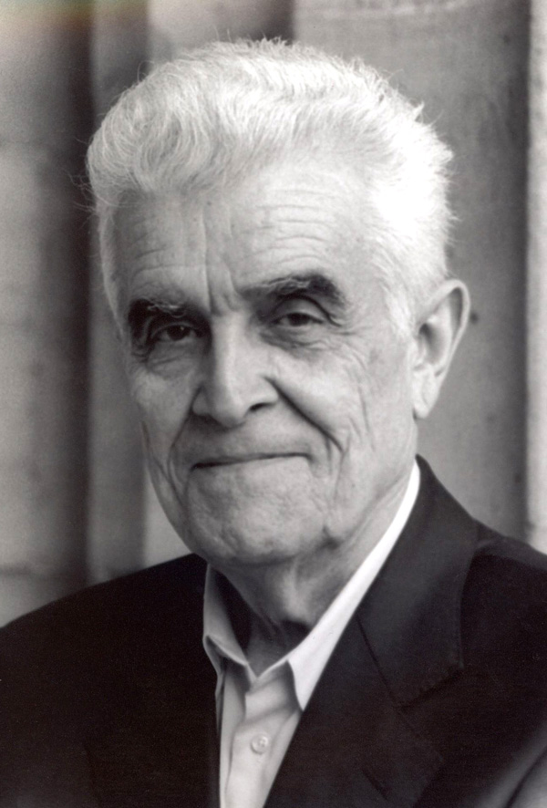 René Girard (photo credit: Elizabeth Bailie)