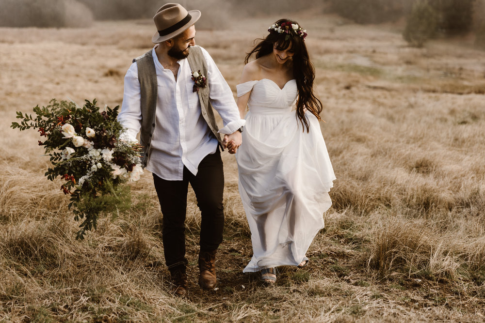 Michelle and Chuy - Palomar Mountain Elopement - San Diego, CA
