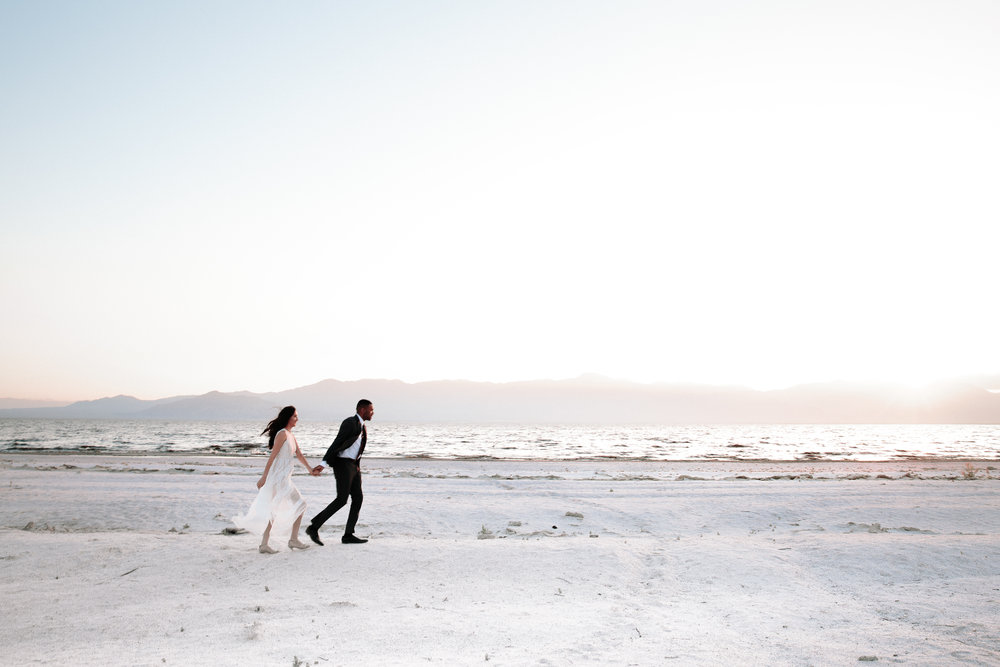 danielle and michael  - Salton Sea | California