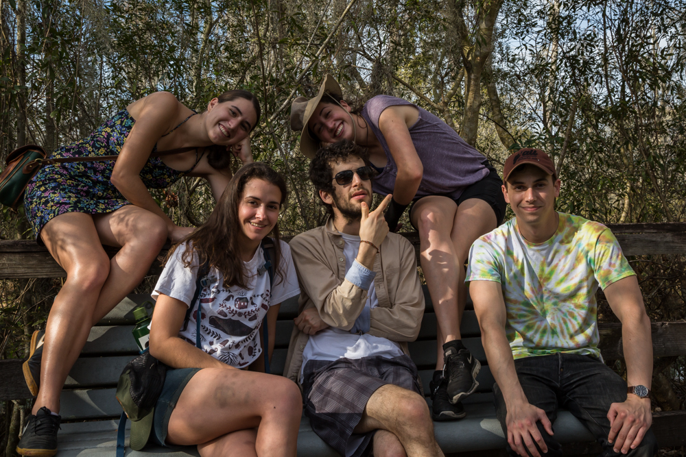 Marrero, LA • Catalina, Grace, Kyle, Derek, Phoebe ft. truck battle bruises & a squished bug.