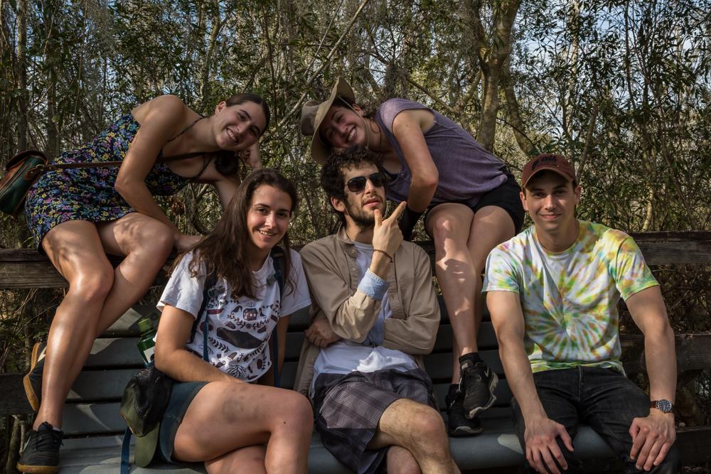 Marrero, LA • Catalina, Grace, Kyle, Derek, Phoebe ft. truck battle bruises & a squished bug.