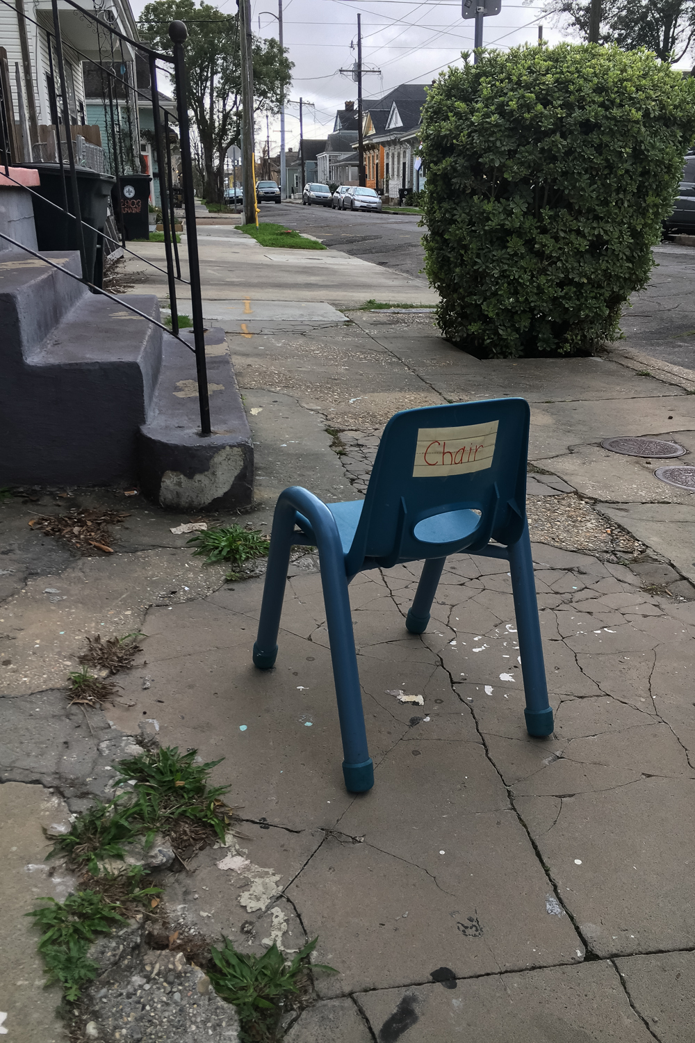 New Orleans, LA • We found a chair.