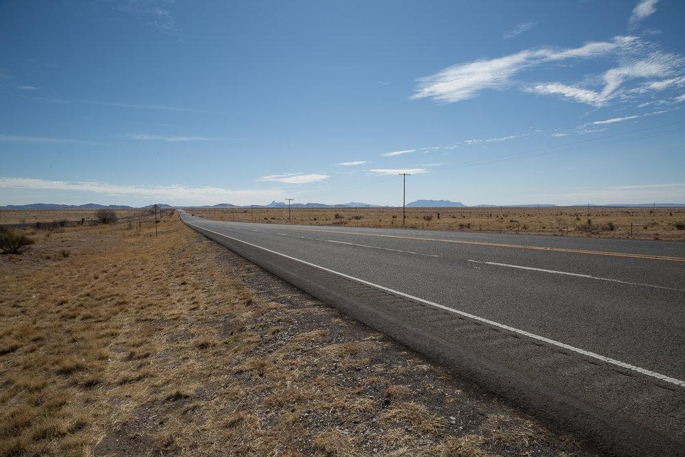 Road • Marfa, TX