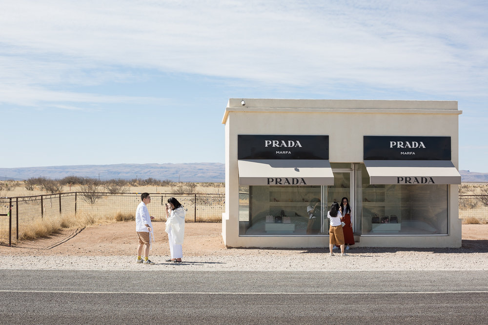 They also went to Marfa. • Marfa, TX
