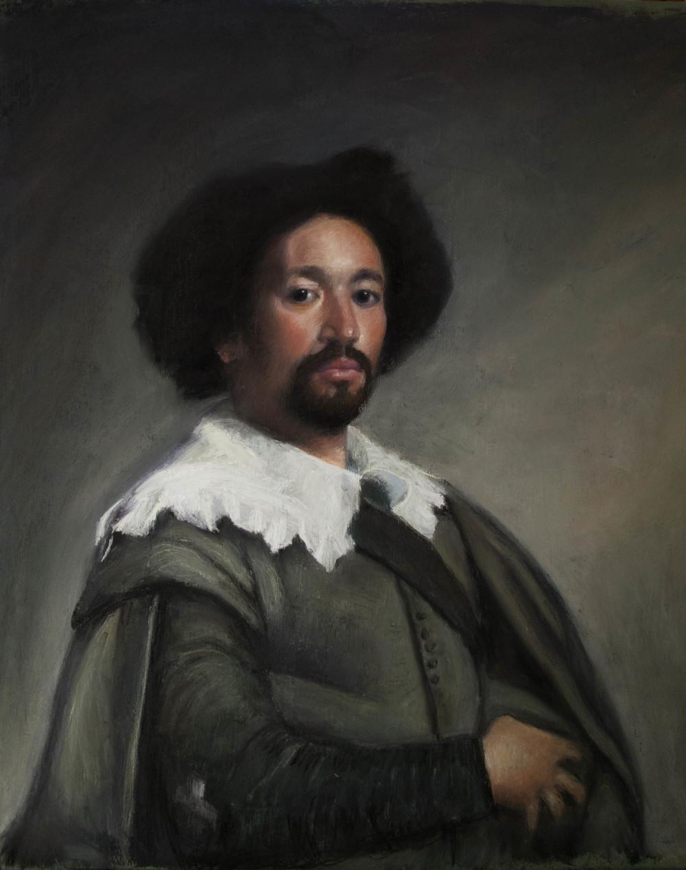 After Velazquez (portrait of Juan de Pareja -Met)1.jpg
