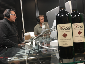 Ken Falke and Leon Tackitt discuss the partnership between EOD Warrior Foundation and Tackitt Family Vineyards with The Brand Ambassadors in the National Harbor studios.