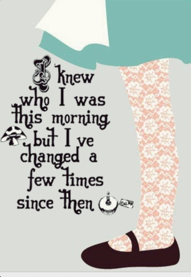No person is ever stagnant, no matter how slowly or quickly the change, we are always evolving into a different person.