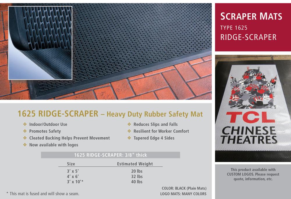 Ridge Scraper 1625 Cactus Mat