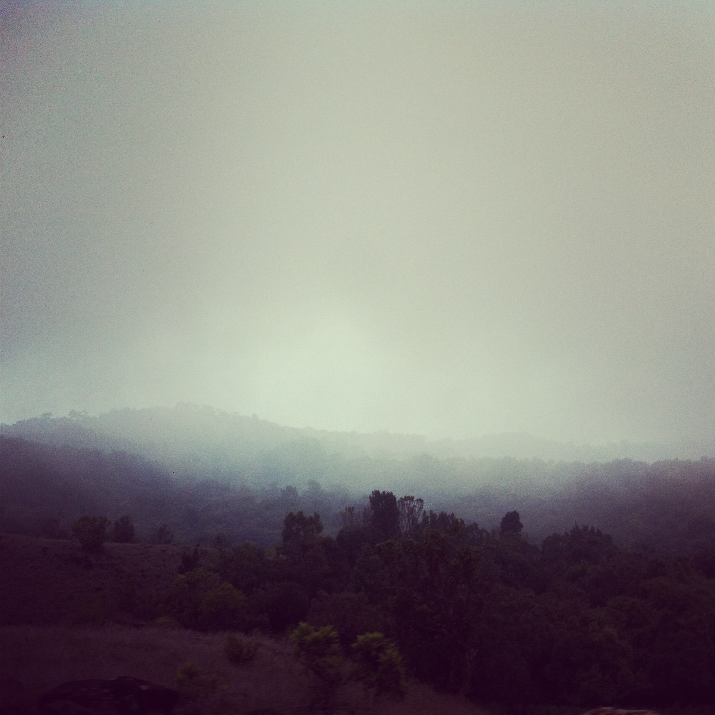 To feel one with the misty hills of Coorg