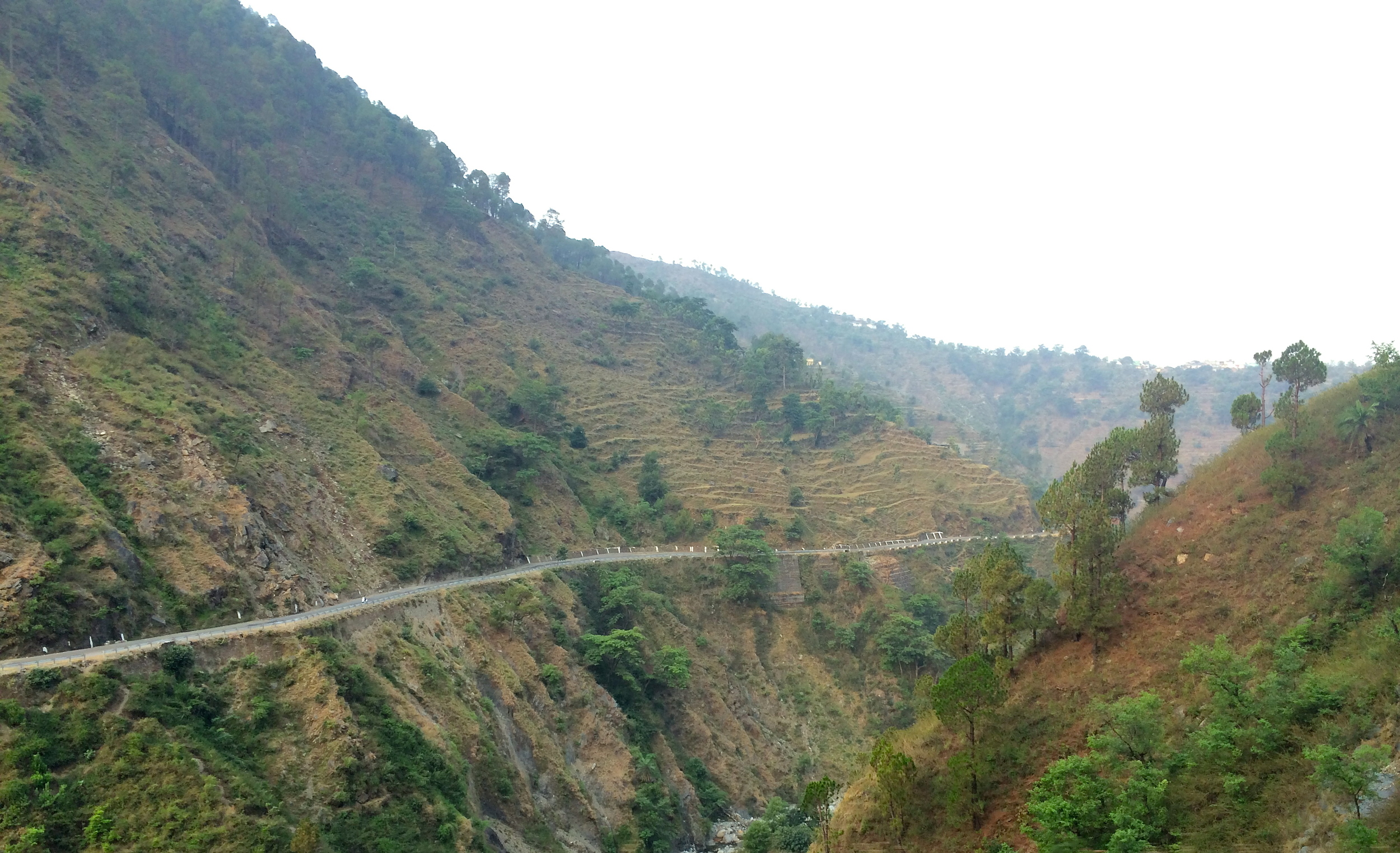 On the way to Dalhousie from Pathankhot