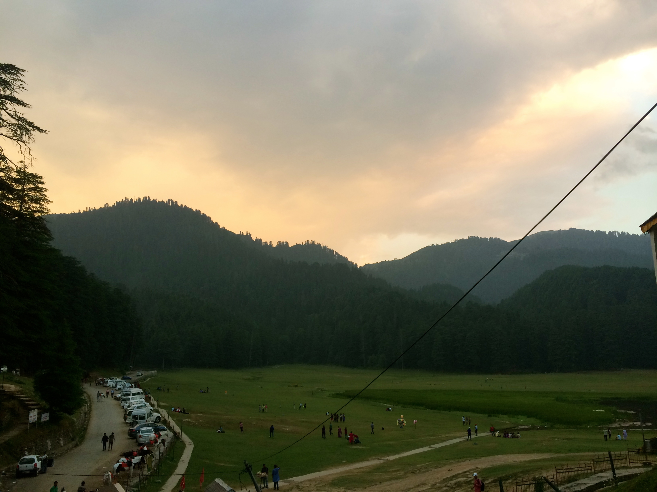 Khajjiyar by sunset!