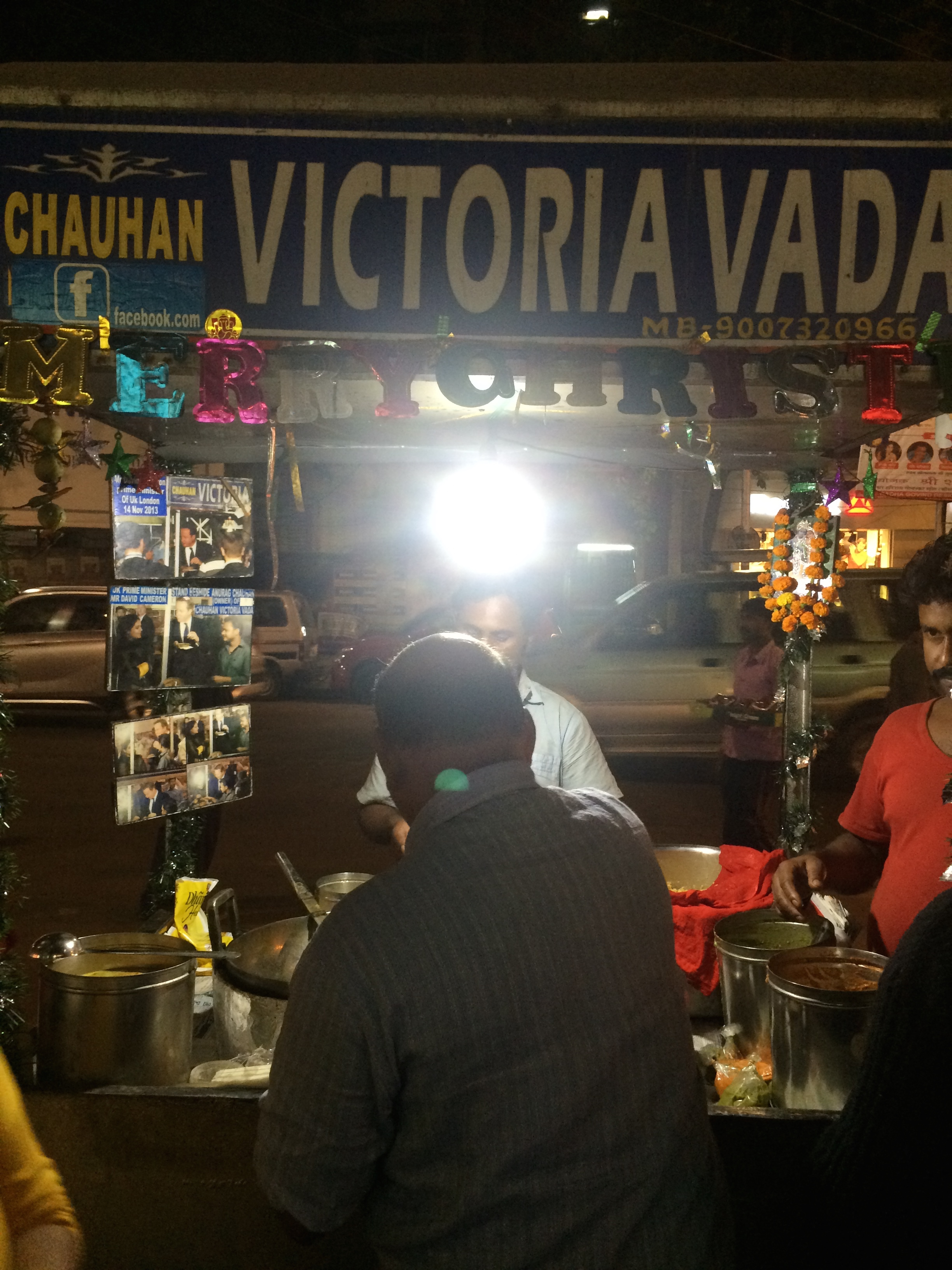 The Victoria Vada stall