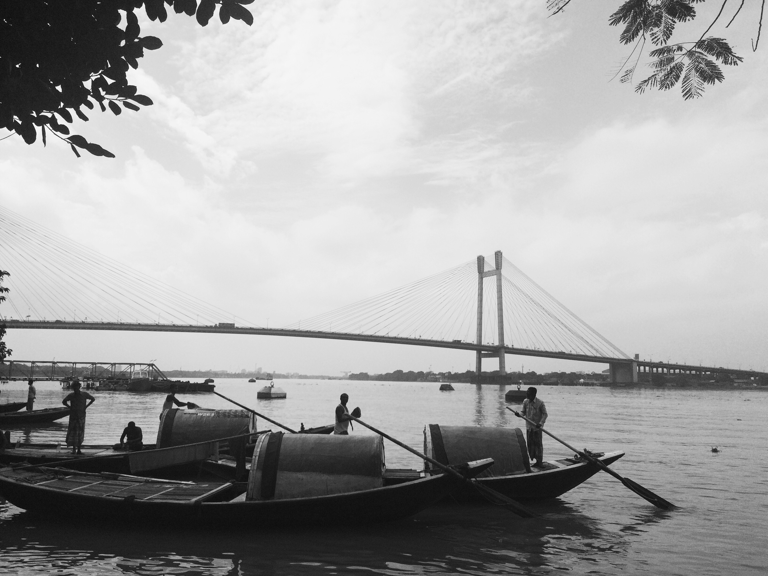 Vidhya Sagar Sethu Bridge from Prinsep Ghat