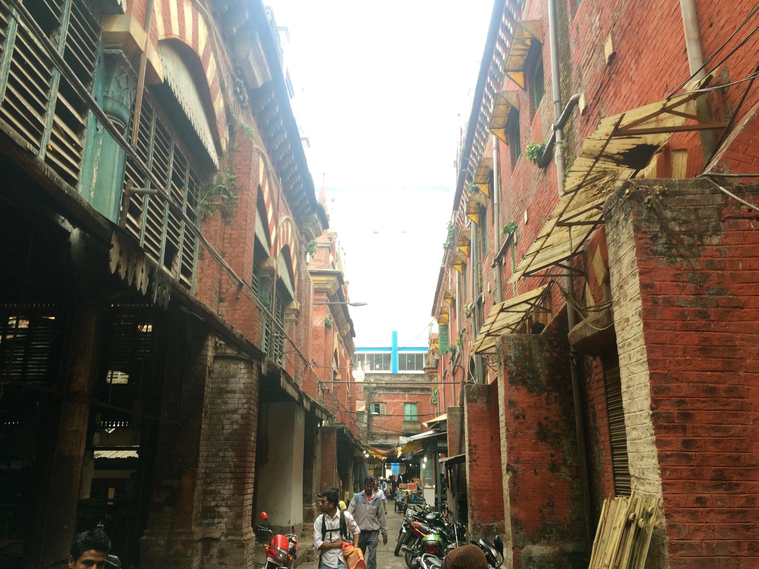 Inside Vardhaan Market