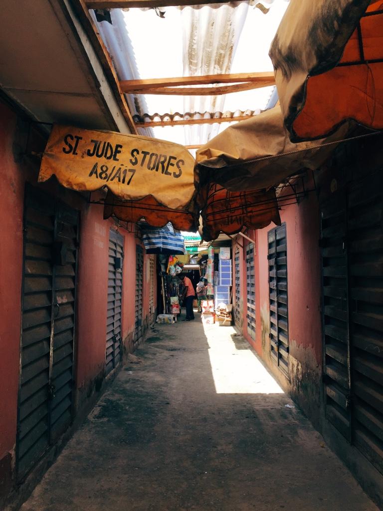 Lekki Market Entrance