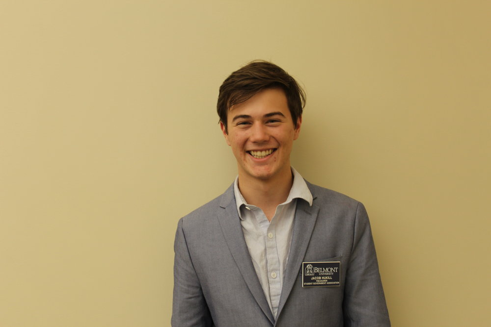 Treasurer    Jacob Hukill   jacob.hukill@pop.belmont.edu | (615) 473-5933