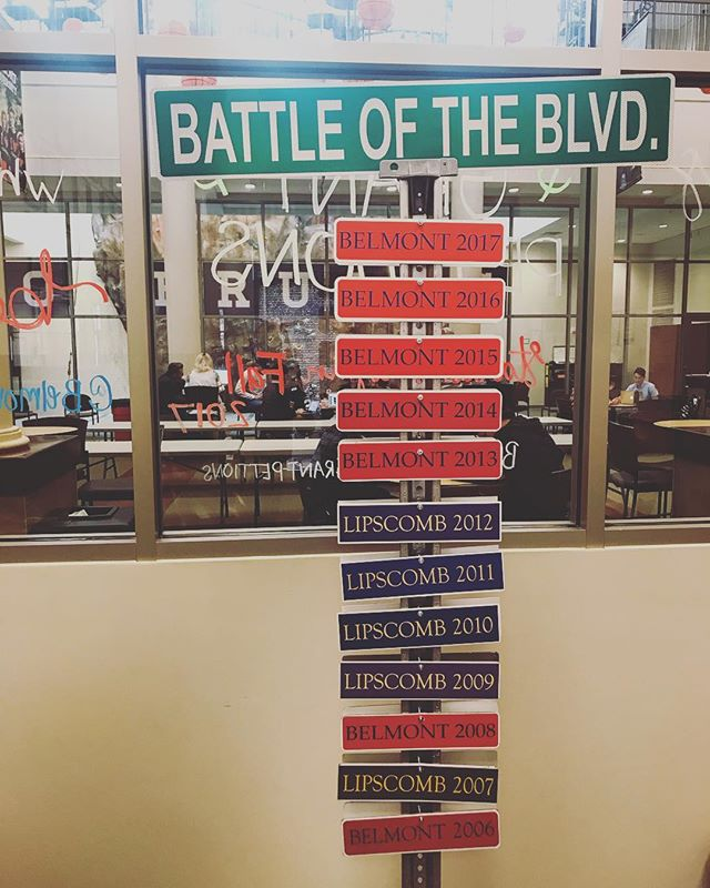 Tonight is the night! Blizzard on the boulevard, battle of the boulevard, and first on the floor! See you on the boulevard at 4pm to begin the festivities! #gobelmont #sga