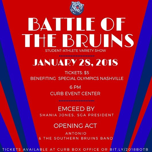 Come support your Belmont Bruin athletes this Sunday at Battle of the Bruins! Tickets are $5