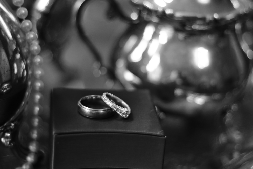 Rings at Winter Wedding