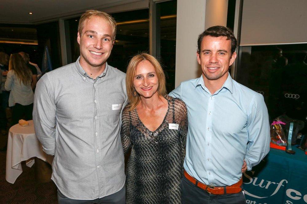 Liam Robertson, Jodie Keating & Shaun O'Callaghan