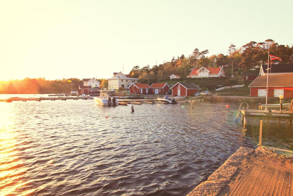 Aprilkveld i Bølingshavn. Foto: Eirik Dahl/Visit Hvaler