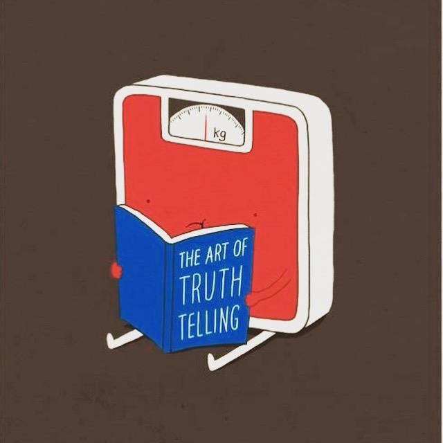 * A arte de contar a verdade