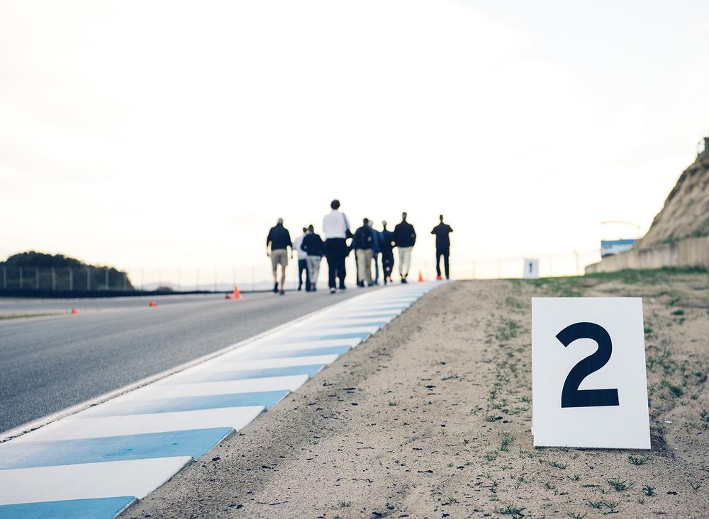 Allen Berg Racing School - Laguna Seca Raceway, Monterey, CA.