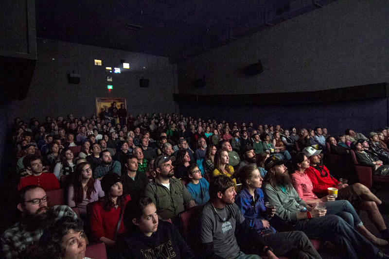 A sold-out crowd of 200 gathered in Boise March 23 to view DamNation, a new documentary about deadbeat dams in the U.S. Photo by Cody Gittings.