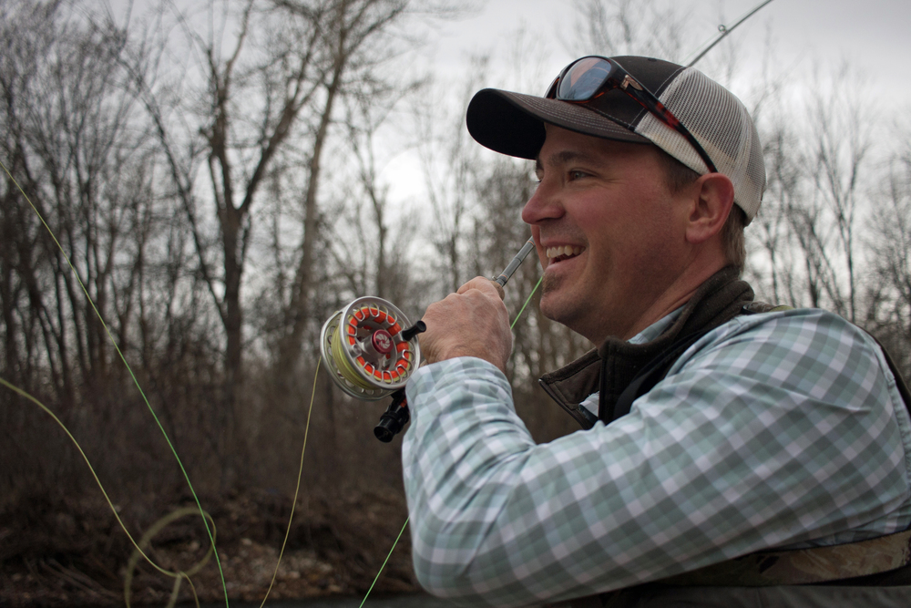 Boise resident and IRU member Bryan Huskey is trying to make a difference for fish and fishing. Photo by Greg Stahl.