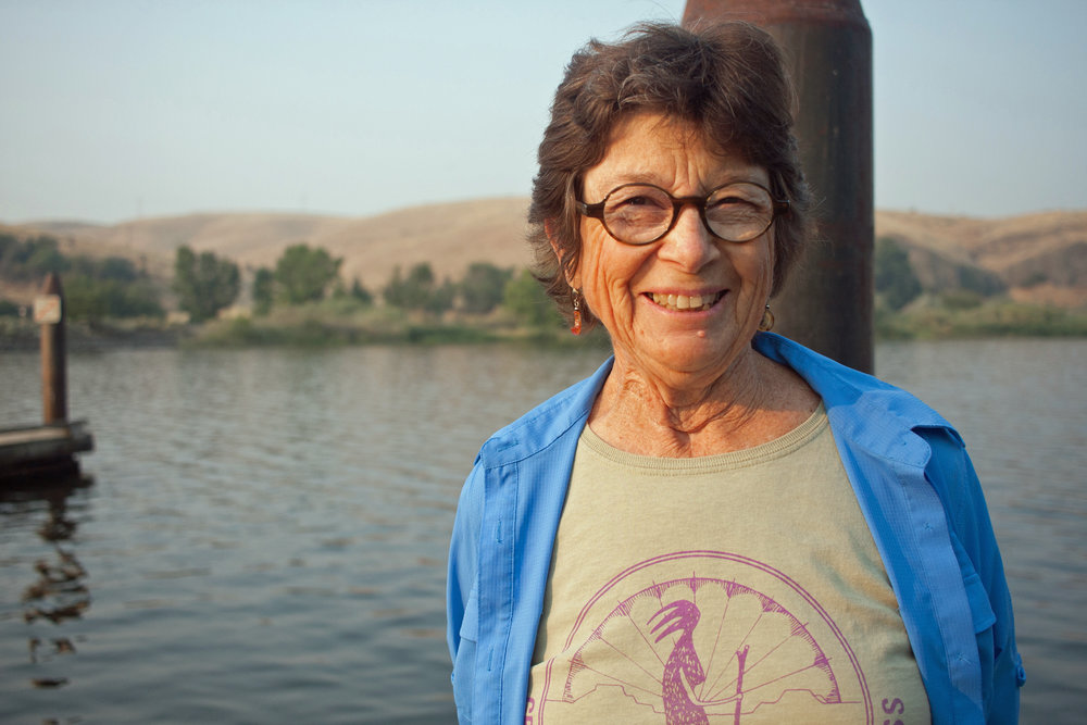 """I believe in wild places and healthy rivers. The more voices toward any issue the better. It's just showing how many people have a heart in this issue. People have come from all over for this, and it shows.""  -Cindy Magnuson, Moscow, Idaho"
