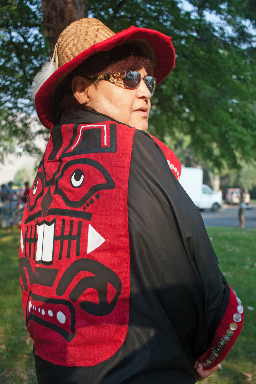 """There hasn't been this type of singing or Indian activities here in 100 years or more. It's good to open the space for all people. It makes good relations.""  -Lucinda Simpson, Lapwai, Idaho"
