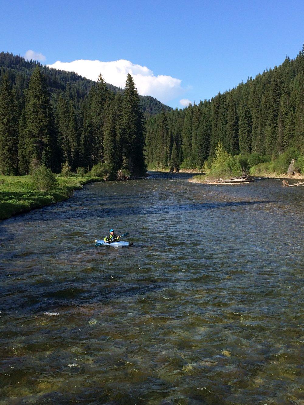 Cayuse Creek. Photo by Wendy Jones