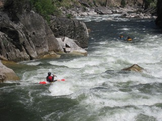 """""""I first visited (the South Fork of the Salmon) in the early `80s and it stands out not only as a Mecca for river runners, but as a gateway to the kind of wilderness experience that is becoming increasingly more important even as it becomes that much harder to come by. A whitewater paddler for 45 years, I love the South Fork for many of the same reasons I love all wild rivers: the beauty, the challenge, and the privilege of being able to experience that which is untrammeled by the hand of man. The unique experience that has been given to those of us who have had the opportunity to visit this magnificent place needs to be protected and preserved so that our children and grandchildren can enjoy it as well.""""   -Scott Gerber, Portland, Ore."""