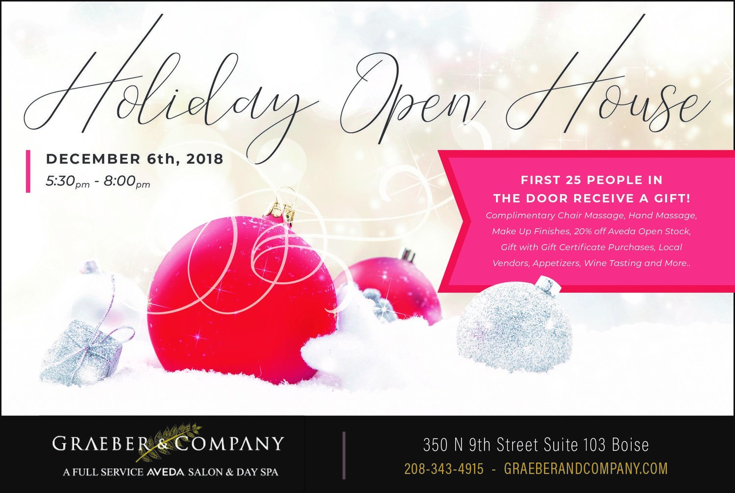 Graeber's Holiday Open House