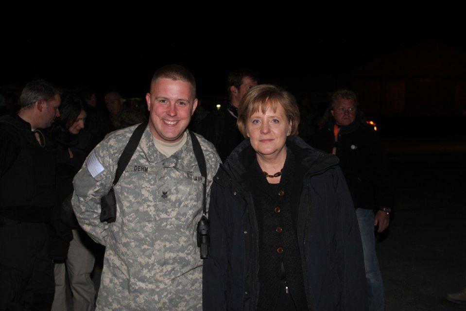 Eric & Angela Merkel