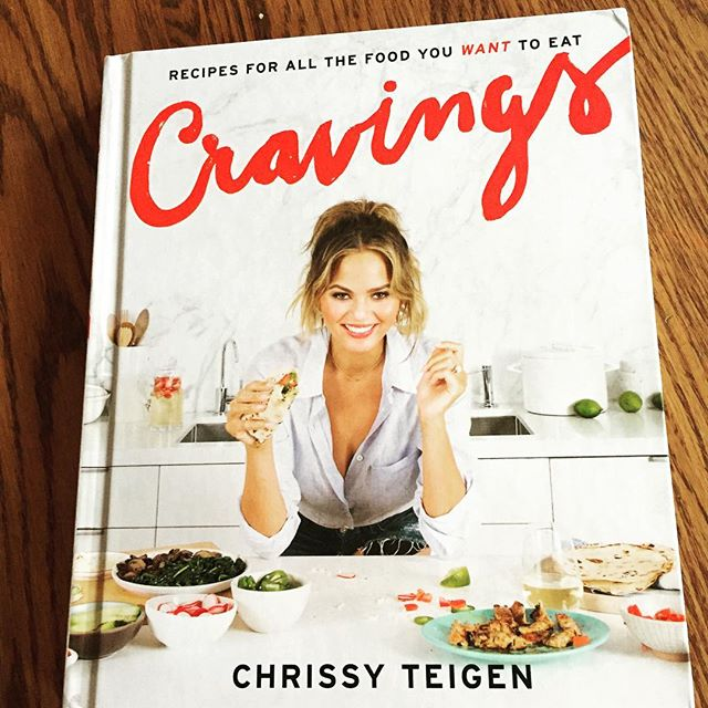 OMG, SO STOKED to receive this GEM in my @amazon package today! #cravings Much love to you, @chrissyteigen! ❤️ Can't WAIT to test some of these recipes out! #Wisconsinloveschrissyteigen 😄