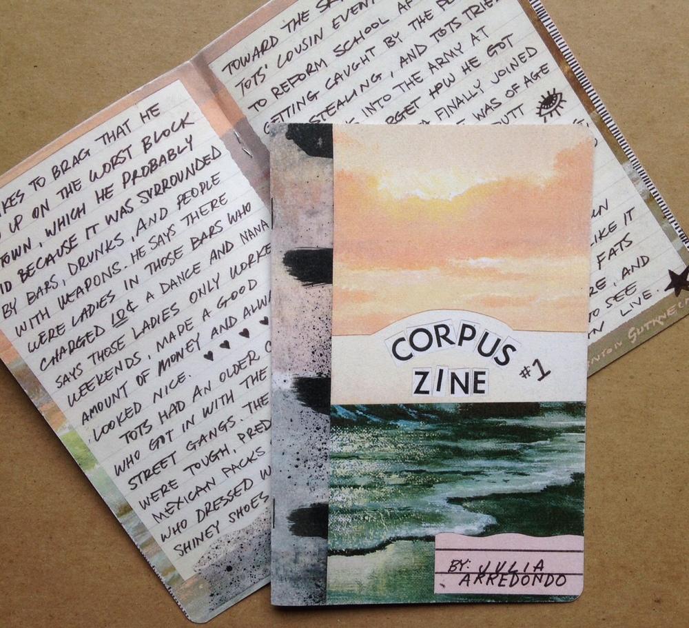 Corpus Zine #1 Inner
