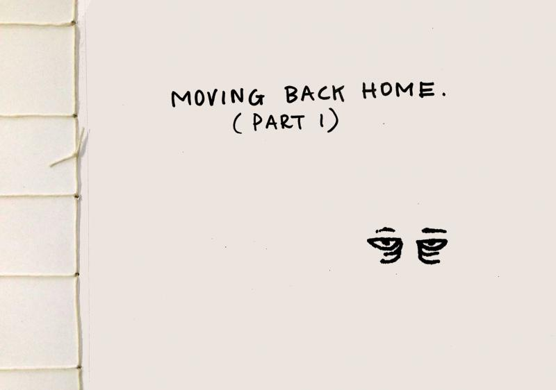 Moving Back Home (Part 1) Art Book