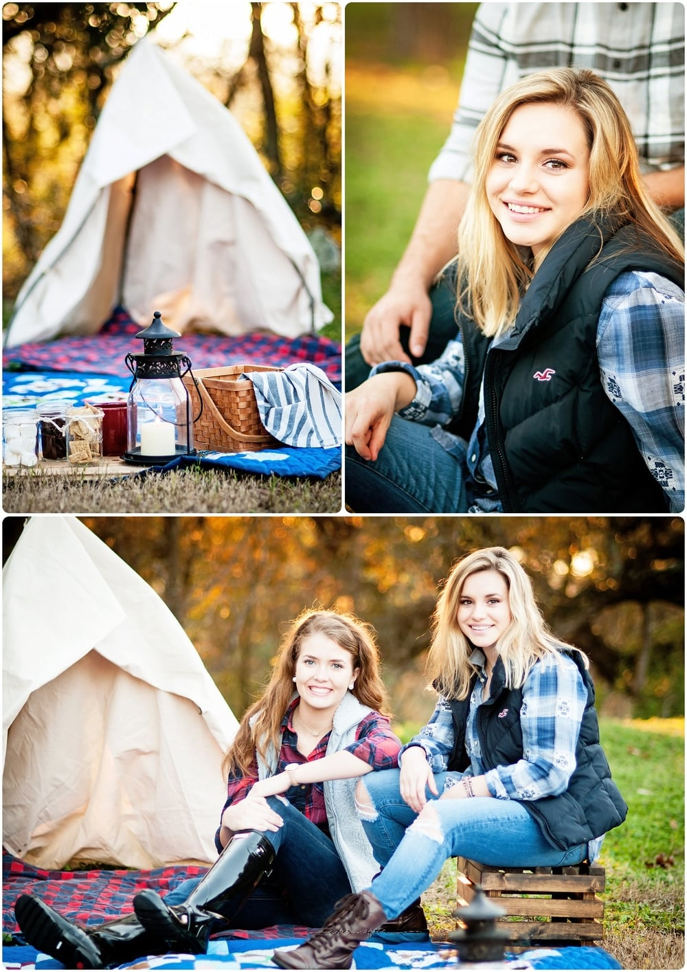 San Antonio Senior Photography | Camping Themed Session | Ever After Photography