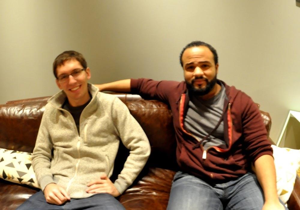 Matt Harris (left) and Justin Romano.