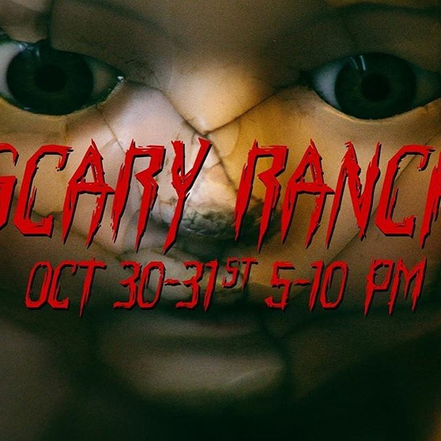 First Annual Scary Ranch! Oct.  30-31 #hauntedbarn #hauntedhouse #wenatchee  https://m.facebook.com/events/630467660448758/